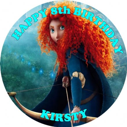 Brave Edible Cake Topper